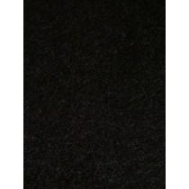 Plush Felt - Black  1 Yd