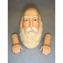 Porcelain - Old World Santa - 3 1_2