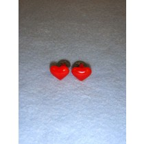 Red Heart Eyes_Nose - 10mm  Pkg_6