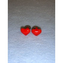 Red Heart Eyes_Nose - 13mm Pkg 6