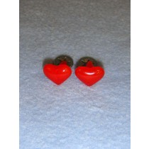 Red Heart Eyes_Nose - 19mm Pkg 6