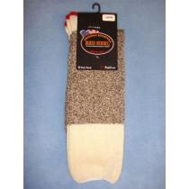 Red Heel Socks-w_Inst (Large) Pkg_4 Socks