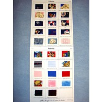Sample Card - Fabrics
