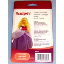 Sculpey Flexible Push Mold - Woman