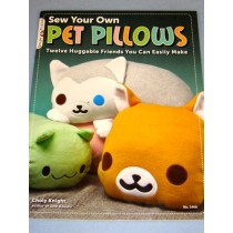 Sew Your Own Pet Pillow Book