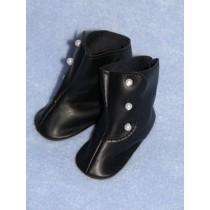 "Shoe - High Button - 1 1_2"" Black"