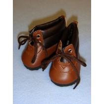 "Shoe - Hiking Boot - 3"" Brown"