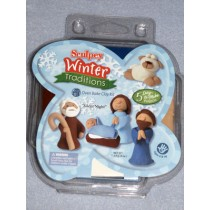 Silent Night Clay Kit