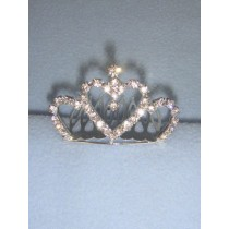 Silver Tiara w_Crystals - 2 1_4