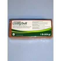 Super Sculpey Living Doll Clay - 1 lb Brown