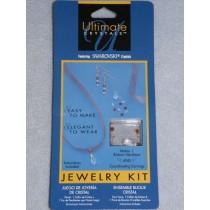 Swarovski Ribbon Jewelry Kit - Gold