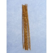 "Tinsel Stems - Gold -6mmx12"" Pkg_12"
