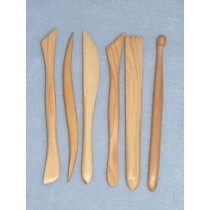 Tools - Wooden for Clay - Set_6