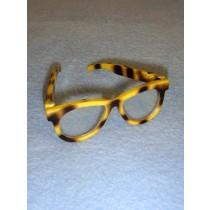 """Tortoise Shell Glasses for 18"""" Doll"""