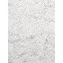 White Shaggy Cuddle Fabric - 1 Yd