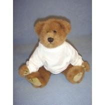 """White T-Shirt for 12"""" Bear"""