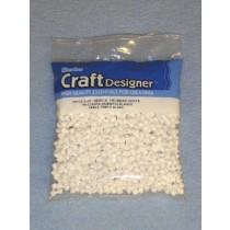 White Tri-Beads 480 pcs
