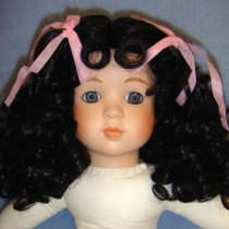 "Wig - Karin_Patty - 12-13"" Black"