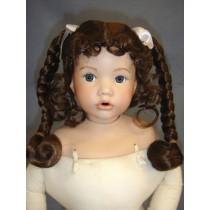 "Wig - Ruby - 10-11"" Light Brown"