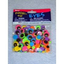 Wiggle Eye - Assorted Size Neon