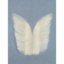"Wings - Goose Feather - 11"" 2 Pcs"