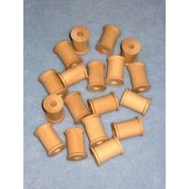 "Wood - Spool - 1 3_16""x 7_8"" Pkg_18"
