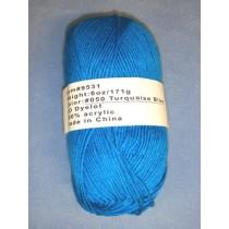 Yarn - Turquoise - 6 oz Acrylic