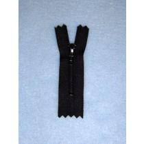 """Zipper - Doll - 2"""" Black"""