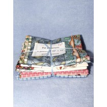 |100% Cotton Fat Quarters - 8 Pcs