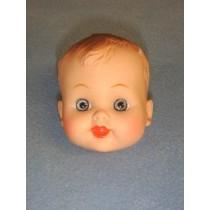 """ 2 1_2"""" Boy Doll Head"""