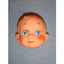 """ 2 1_2"""" Boy w_Freckles Face - Pkg_6"""