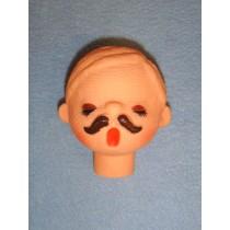 "|2 1_2"" Male Caroler Head"