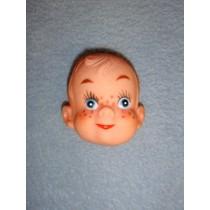 """ 2"""" Boy w_Freckles Face - Pkg_6"""