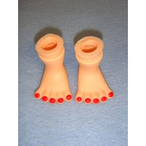 "|2"" Clown Feet"