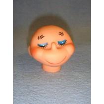 """ 2"""" Smiley Head"""