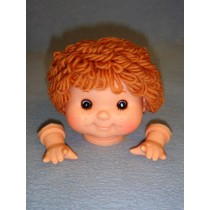 "|3 3_4"" Head - Tiny Teeter Tot Boy w_Brown Hair"
