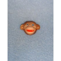 "|3_4"" Mini Monkey Faces - Pkg_12"
