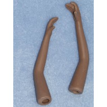 "|3"" Long Dark Porcelain Arms"