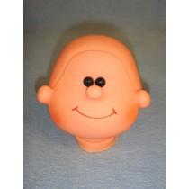 "|5"" Smiling Charlie Head"