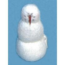 """ 7"""" Fleece Snowman"""