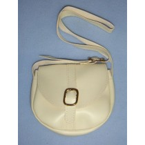 "|Beige Purse for 18"" Dolls"