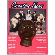 """ Creative Faces - 3 1_2"""" Dark"""