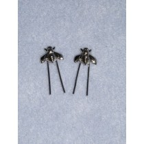 |Doll Hair Ornament - Nickel Bee - Pkg_2