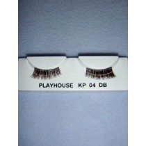 |Eyelashes - Angled - Dark Brown