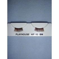 |Eyelashes - Multi-Brown