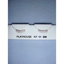 |Eyelashes - Wispy - Multi-Brown