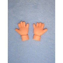 "|Hand - Clown - 1 3_8"""