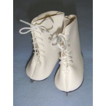 """ Ice Skates - 2 5_8""""  White"""