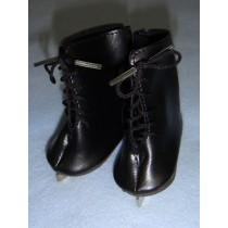""" Ice Skates - 3 1_8"""" Black"""
