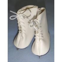 """ Ice Skates - 3 1_8"""" White"""